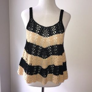 Designer crochet top by Hazel